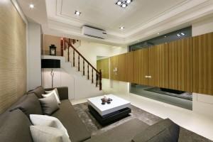 大禾國際室內設計 大橘陽光B6 一樓客廳