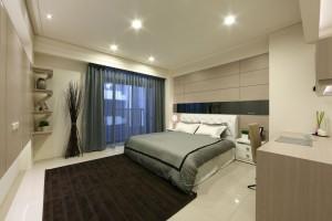 大禾國際室內設計 大橘陽光B6 二樓整層主臥室