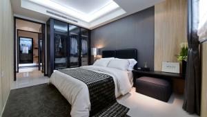 大禾國際室內設計 飛鳥觀止 2房-主臥室